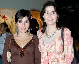 Leticia García y Elsa Lechuga.