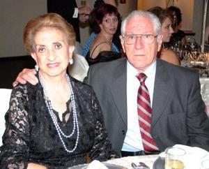 María Elena y Manuel Fernández.