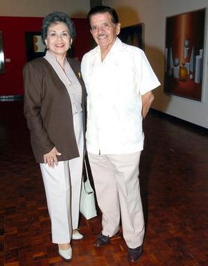 María Teresa Gutiérrez y Antonio Silva Alvarado.