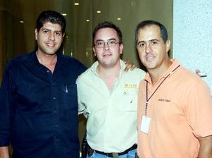 Ramzi Chawi, Carlos Leal y Mauricio Tamayo.
