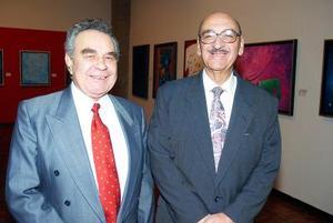 Salvador Tostado Gamboa y Sergio Pérez Merodio.