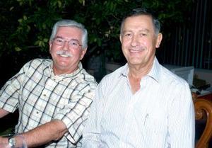 <b>31 de octubre de 2005</b><p> Ramiro Cantú y Francisco Estrada.