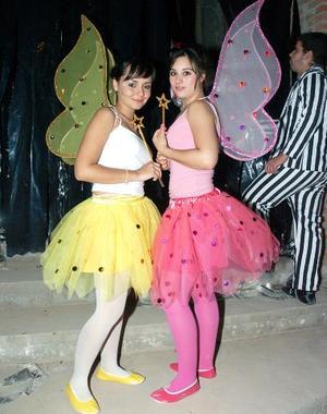 Dayanira Anaya y Rocío Aguilar