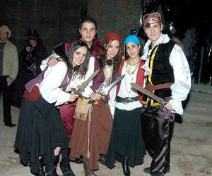 Fernando Villarreal, Luis Jorge Murra, Marce, Sofía, y Sergio Garnier.