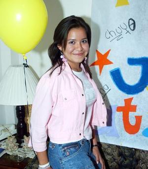 Janeth Esmeralda Félix Nuncio celebró su cumpleaños, con una reunión hace unos días.