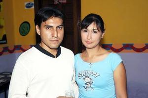 Miguel Ángel Rangel y María Eugenia Orozco.