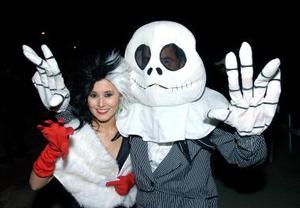 <b>31 de octubre de 2005</b><p> Tenssy Meléndez y Aleisther Garza.