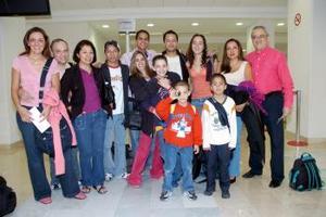 Las familias Torres y Escotto viajaron a la Ciudad de México.