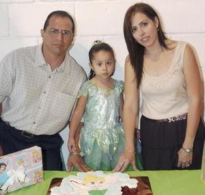 María Fernanda Manjarrez Saucedo cumplió cuatro años y los celebró con una fiesta organizada por sus papás, Rogerio y Georgina.