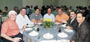Fernando Russek, Fernando González, Alejandro Lassala, Jorge Arias, Enrique Lassala, Pedro Fernández y Francisco Cobos.