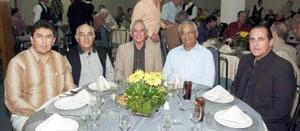 Gerardo Meléndez Boone, Manuel Rivera, Roberto Soto, Juan Antonio García Villa y José Ángel Fernández Pérez.