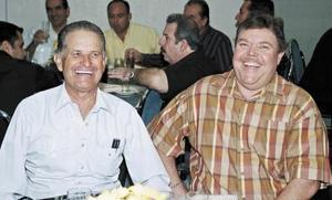 Isidro Ortiz y  Jorge Bredeé.