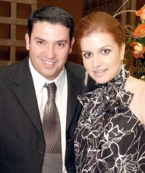 Gilberto Palacios y Liliana Fernández.