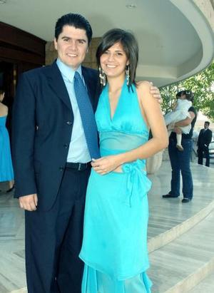 <b>03 de noviembre 2005</b><p> Jan Chessal y Brenda Arenas.