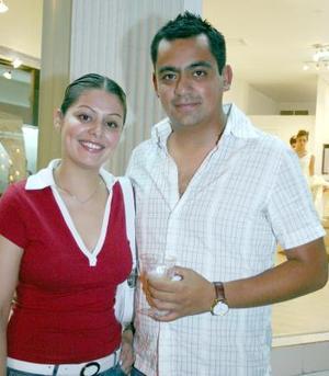 Mariana Ramos y Rafael Aristán.