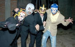 <b>02 noviembre 2005</b><p> Tovij, Sael Balandrano, Eduardo Pérez y Alejandro Vidal.