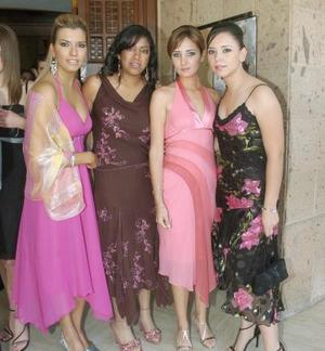 Katia Villarreal, Mary Fer Gutiérrez, Marcela Albéniz y Marcela Lavín