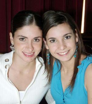 Lidia Martínez y Laura Batarse.