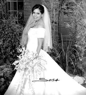 C.P. Elizabeth Muñoz López, el día de su boda con el Ing. Jorge Aguilar González.