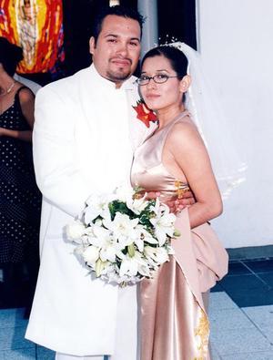 Lic. Tania Amyties Moreno Ramírez, el día de su enlace matrimonial con el Lic. José Manuel Prone de la Cruz.