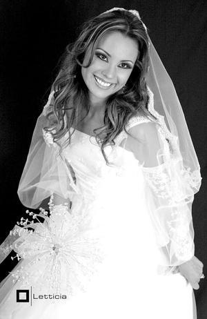 Srita. Margot Hernández Castañeda, el día de su enlace matrimonial con el Sr. Yoofi  Ocran..