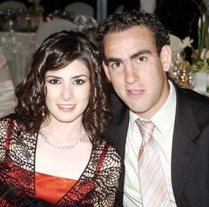 Mariana Jiménez y Eduardo Gómez.