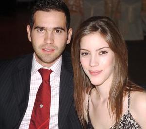 Manolo Fernández y e Ivette Cornú.