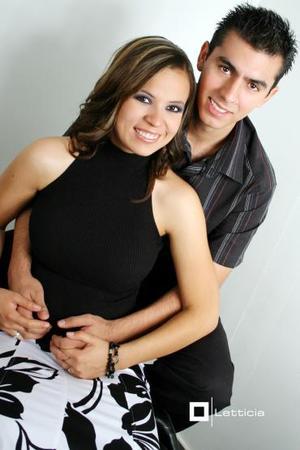 Iveth Rocío Flores de la Cruz y Carlos Manuel Grageda Torres.