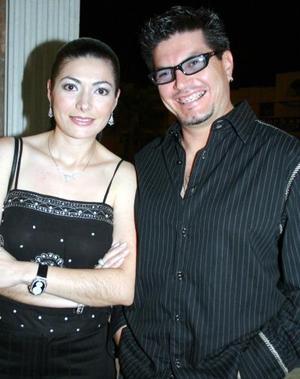 Claudia Olmos y Fernando Cabañas.