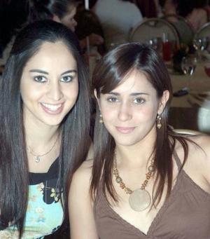 Mariana Michel y Melisa Hermosillo.