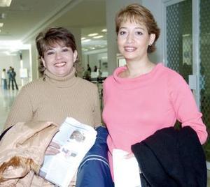Azucena Betancourt y Beatriz Esqueda viajaron al DF.