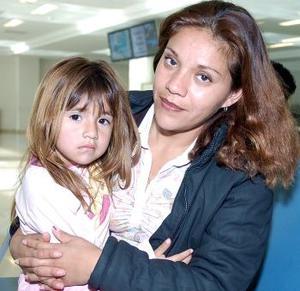Blanca Pesina y Yesenia Vega viajaron a Tijuana.