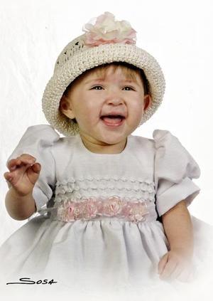 María Fernanda Guardado Bassoco celebró su primer año de vida el pasado cinco de octubre.