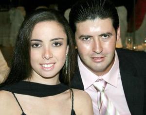 Vanessa Gidi y Patricio Cañas.