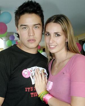 Alejandro Ríos y Johanna Miñarro.