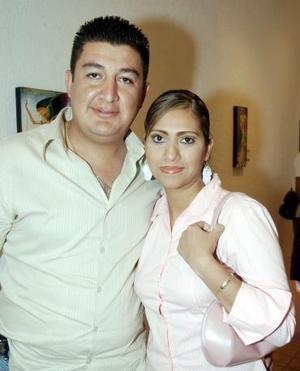 Alfredo Núñez y Sandra García.