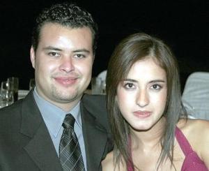 Guillermo  Serrano y Daniela Magaña.