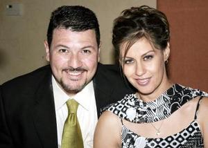 Iñaki H. Aguiñaga y Gabriela Silveyra de Aguiñaga.