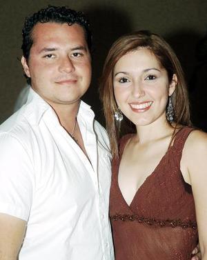 Issac Díaz y Yaneth Molina.