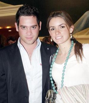 Jorge Fernández y Regina Madero.