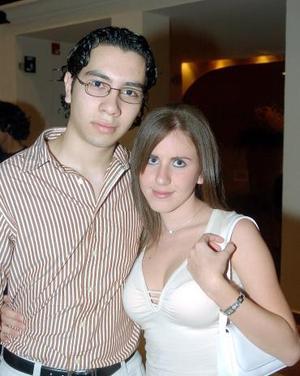 Joaquín Armendáriz y Susana Miyar.