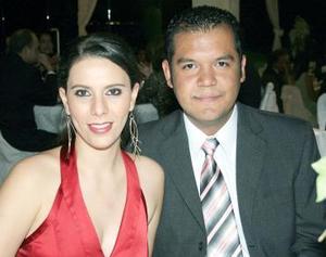 Rocío Nassar y Francisco Contreras.