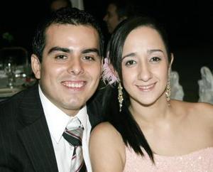 Manolo Martínez y Sofía Vega.