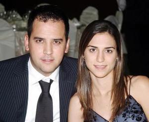 <b>07 de noviembre 2005</b><p> Rogelio Cuéllar y Daniela Murra.