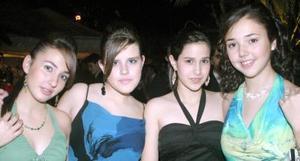Ana Sofía Mijares, Sandra Duarte, Ilse Fernández y Fanny Álvarez