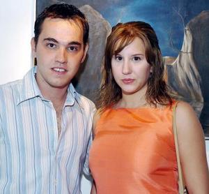 Mónica Peressini y Roberto Madero.