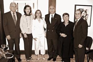 Alberto González Domene, Rosario de González, Marisa de Zavala, Jesús Zavala, José de Ruiz y Javier Ruiz.
