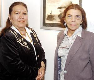 Covadonga Aguirre y Deborah Rodríguez.