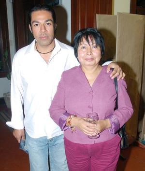 Julio César Cueto y María Caliano.