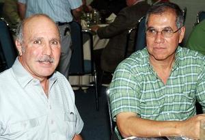 Roberto Ríos y Homero Correa Valdez.
